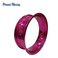 Aluminum Universal 17 Inch Supermoto Spoke Purple Wheel Rims