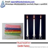wholesale spiral / stick white candle thumbnail image