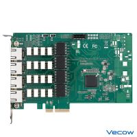 Intel® I350 4-Channel PCI Express Card with advanced 2-pair LAN Bypass
