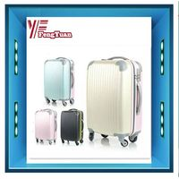 2013 aircross colorful sweety girls carry on abs pc hardshell travel trolley luggage set four wheels