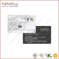 Full Color Off-set Printing Plastic PVC Smart Card with NTAG213 215 TK4100 thumbnail image