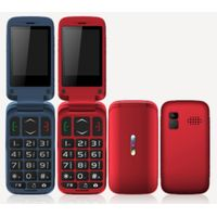 2.44inch TFT feature phone 0.08MP Camera 32MB+32MB with rubber painting