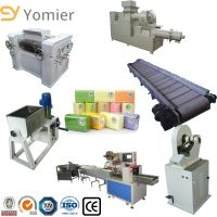 Industrial Toilet Laundry Soap Making Machines Production Line