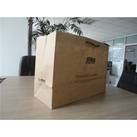 Chinese new kind kraft paper shopping bags