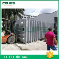 Vacuum cooler for fruit&vegetables 4000kg/day