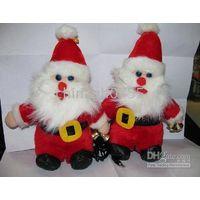 Santa Claus plush pair speaker