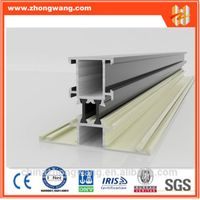 construction aluminium extrusion profile to make doors and windows