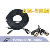 BNC and power connectors in each side cable