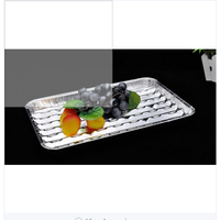 disposable catering aluminum foil tray airline catering food meal tray thumbnail image