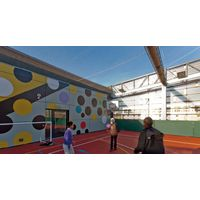 Stainless steel wire mesh for children's playground