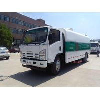 ISU ZU 600P vacuum dust suction road cleaning and street sweeper truck thumbnail image