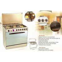Cooking Range Oven Multi Burner