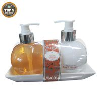 Hand Soap and Lotion 2 in 1 bath gift set