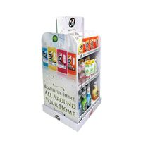 Custom retail store pos display product for sale,paper display racks,detergent cardboard display thumbnail image