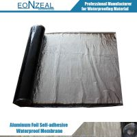 Self-Adhesive Bitumen Waterproof Membrane with Aluminum Film