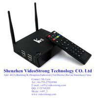 Newest KII 2G/8G Amlogic S812 smart tv box preinstall kodi 14.2 H.265 BT 4.0 Android 5.1 TV box