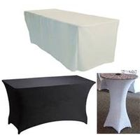 fitted table cloths