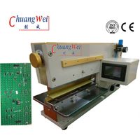 Offline Approval PCB Separator PCB V Cut Machine With Pneumatically Driven