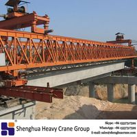 China HSHCL hot quality 300T bridge erection beam launcher equipment