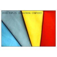 dyed tc poplin 45sx45s 133x72