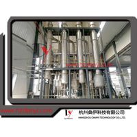 1000L/hr three effect falling film evaporator
