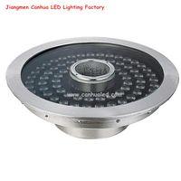 Round IP68 Aquariums Pool DC24V RGB DMX Nozzle Under Water Lamp 48W 60W LED RGBW Fountain Light