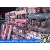 stocklot printed cotton flannel fabric thumbnail image