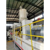 Plastic PP Hollow Cross Sheet Extrusion Production Line thumbnail image