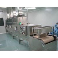 Industrial microwave sterilization machine for spice