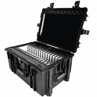 F2- 16S Tablet Charging Cabinets for Schools /iPad Charge & Sync Cart thumbnail image
