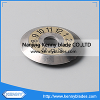 Tungsten Carbide Round Optical Fiber Blade For Fusion Splicer Machine