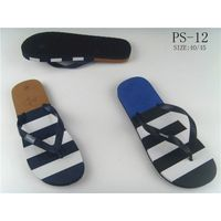 Promotional high quality cheap wholesale china custom flip flops men beach