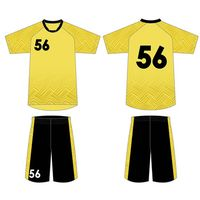 New Model Sublimation Printing Football Jersey Uniform Suit