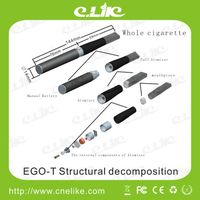 E-Cigarette EGO-T/ EGO T Battery suit Wax/Protank Mini/Evod Atomizer Vaporizer