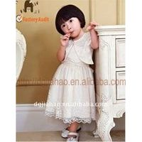the New-designed Cute Baby Girl Dress with Coat thumbnail image