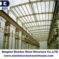 large span steel workshop