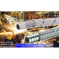 Over Braided Flexible Steel Conduits for industry robots wirings thumbnail image