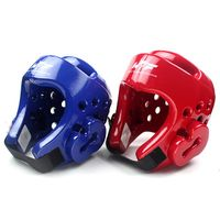 factory direct PU Taekwondo Helmet Head Gear Protector