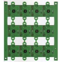 8 Layers FR4 Hard Gold PCB Boards with Green thumbnail image