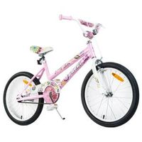 Tauki Spring 20 inch Flowers Girl Bike, Pink
