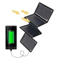 36W 5V Folded Flexible Solar Pack Charger with USB charging port thumbnail image