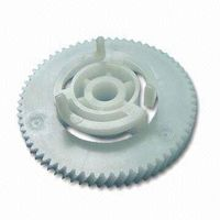 Plastic mould for gears