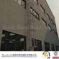 Aluminum Straight Ladder /cage ladder With High-duty HL-8