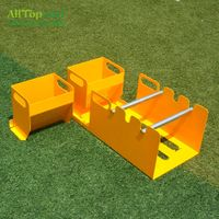 AllTop Turf Artificial Grass Installation Tool Glue Appilcator Glue Fix/Glue Spreader Yellow