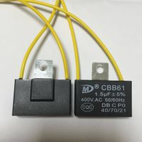 [New product]Cbb61 Capacitor  with ear and UL VDE CQC TUV Certificate
