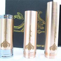 High Qulaity Brass Mechanical Mod Ecig Red Copper Stingray clone mod
