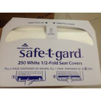 Half Fold paper toilet seat cover,sanitary toilet seat cover