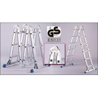 Aluminum Multi-Purpose Ladder with 2 stabilizers
