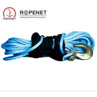 Manual Synthetic Winch Rope Paraglider Winch Towing Rope Elastic Car Towing Rope Equipment
