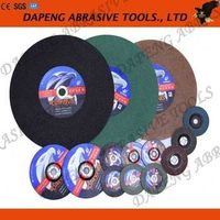 Different specification flat cutting wheel